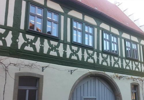 Denkmalschutzfenster und -türen